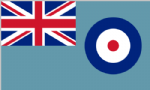 RAF Ensign Large Flag - 8' x 5'.